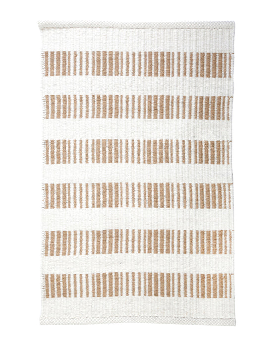 Oxnard Striped Wool Rug