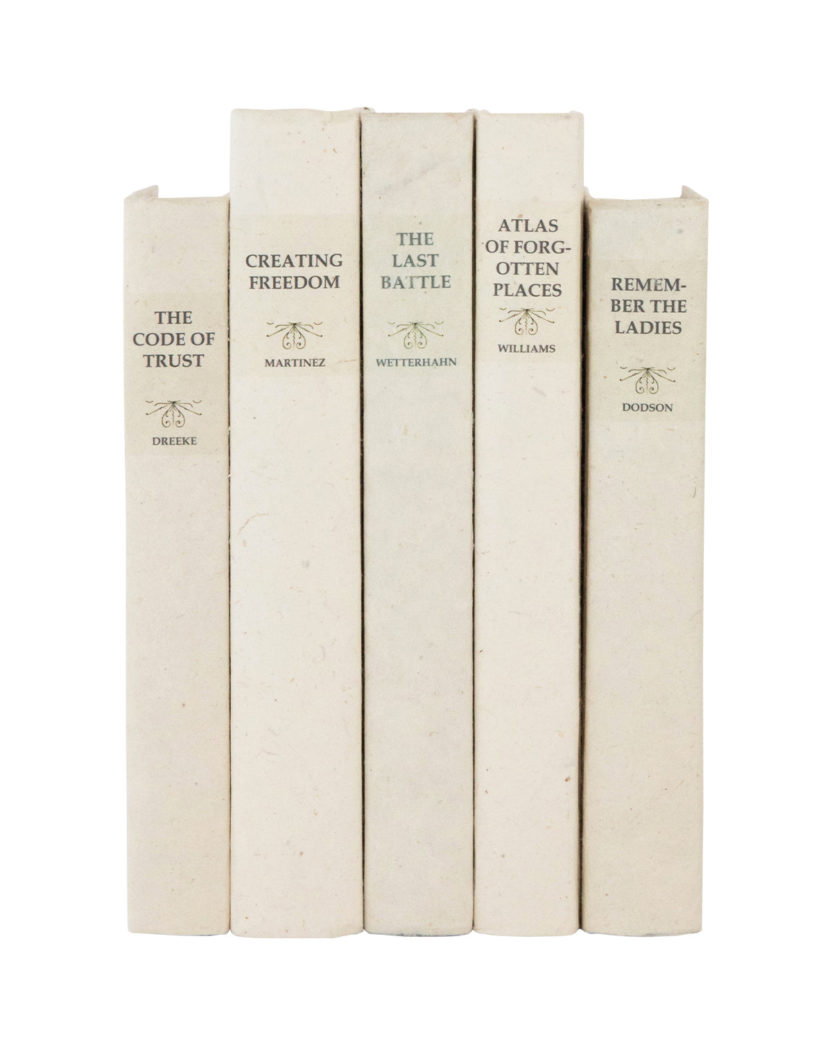 Parchment Books (Set of 5)