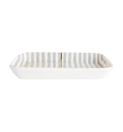 Painted Stripe Tray
