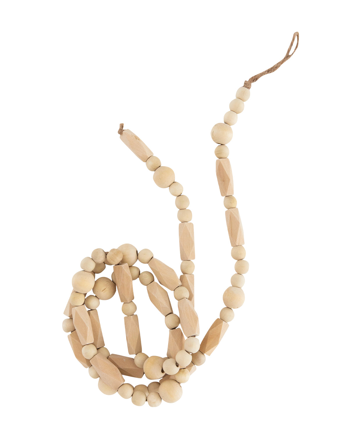 Paulownia Wood Beaded Garland