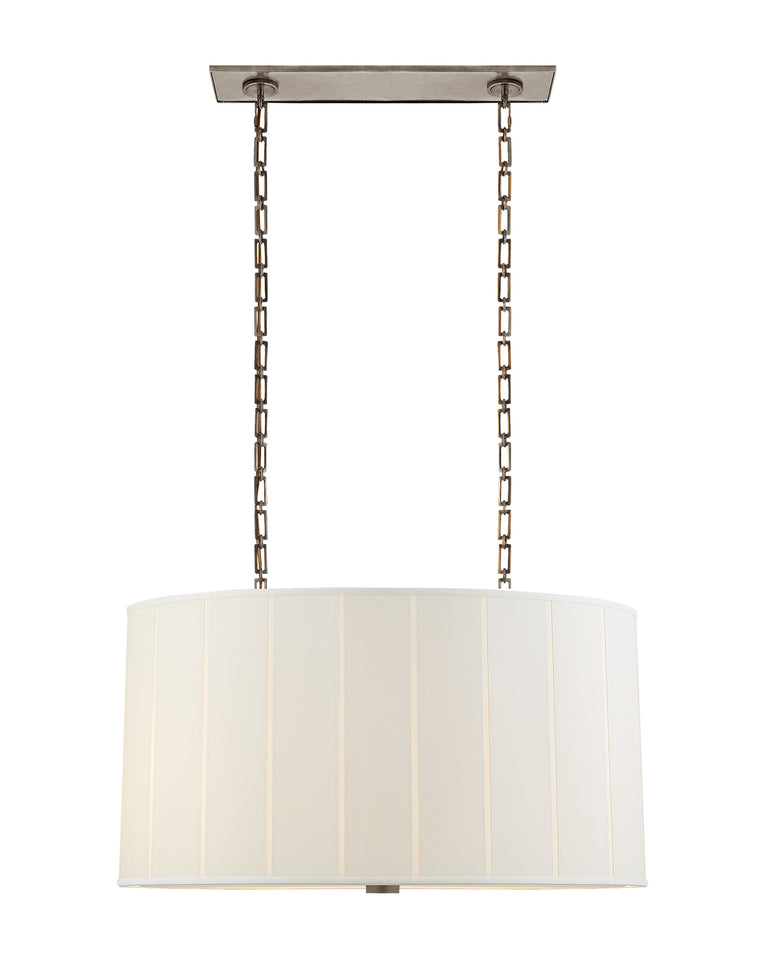 Perfect Pleat Oval Hanging Shade