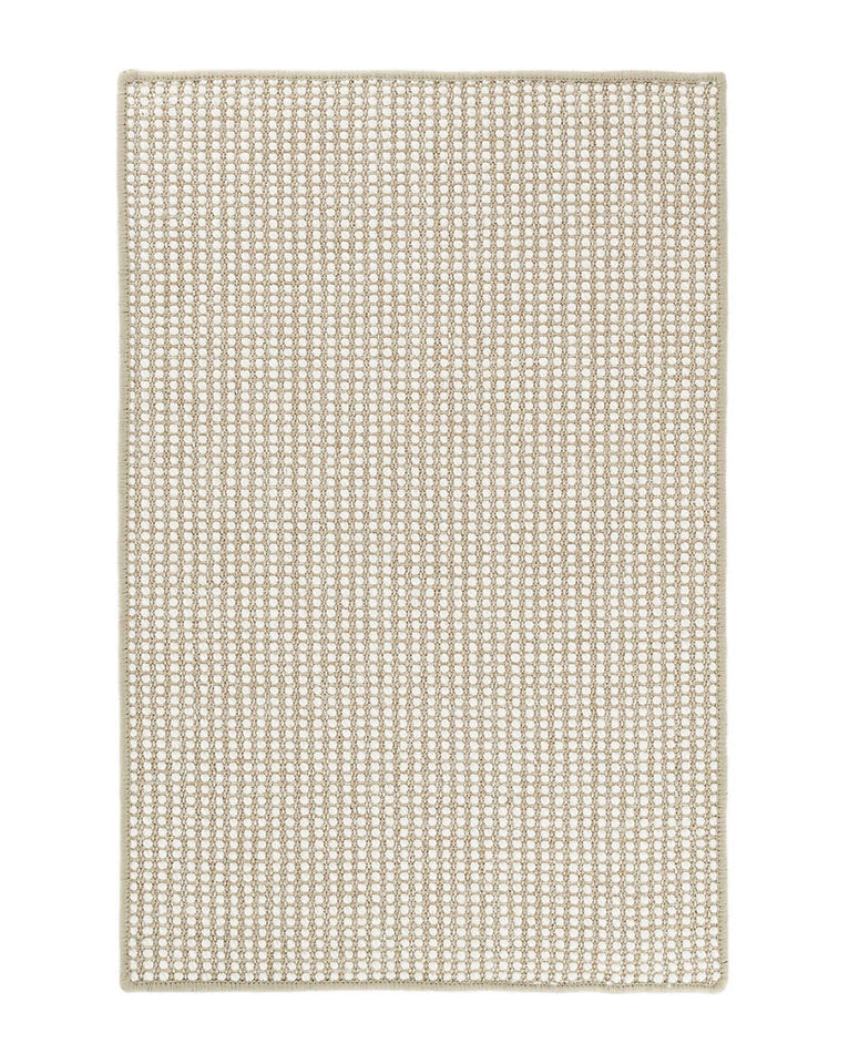 Pixel Wheat Woven Wool Rug Swatch