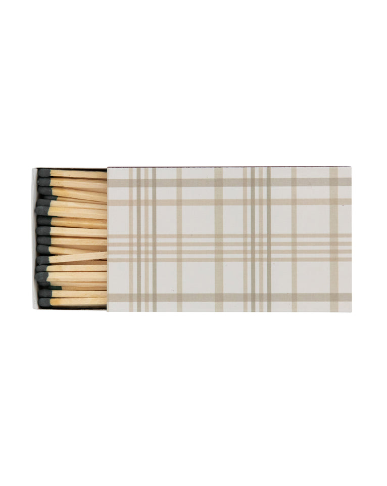 Plaid Matchbook
