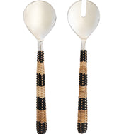 Rattan Handled Salad Servers