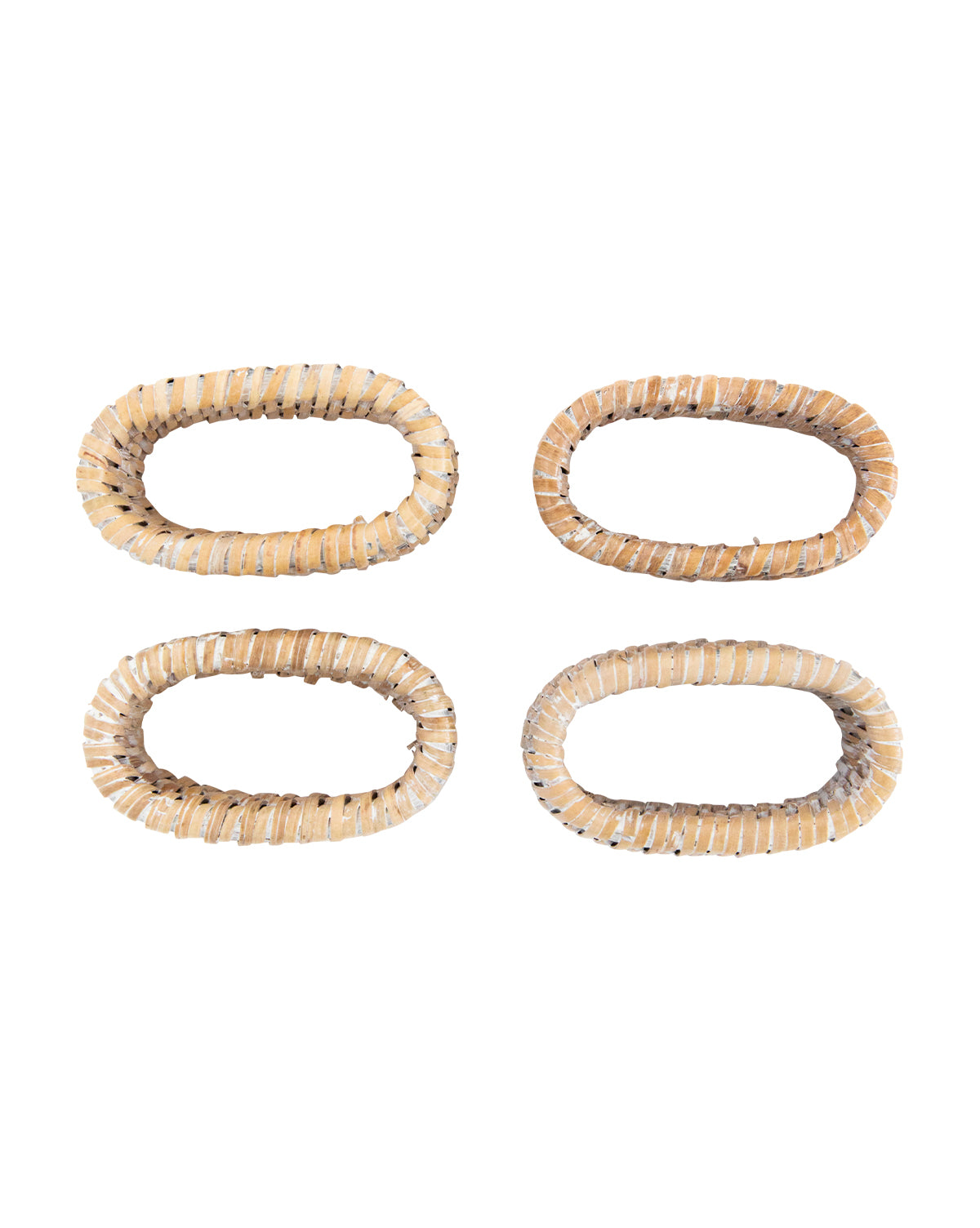Rattan Napkin Rings (Set of 4)