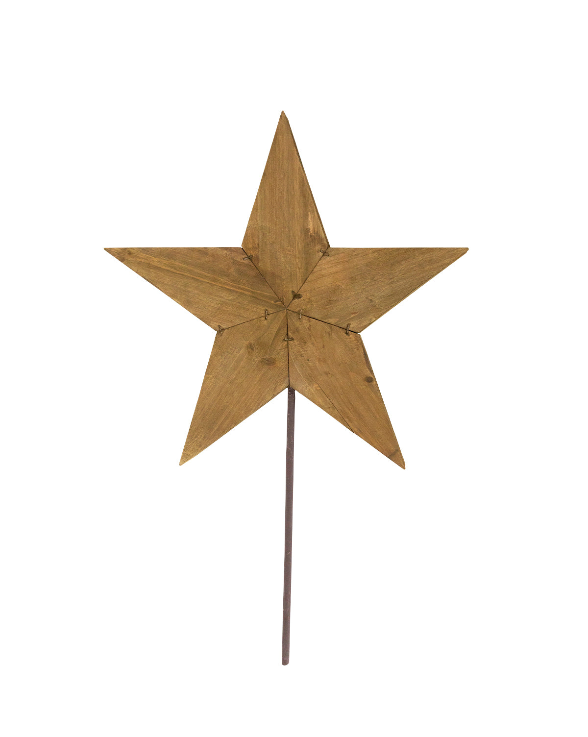 Reclaimed Star Tree Topper