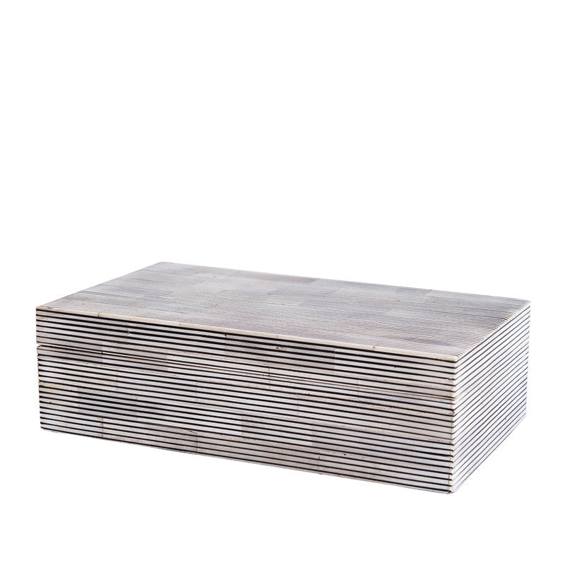 Rectangle Stripe Box