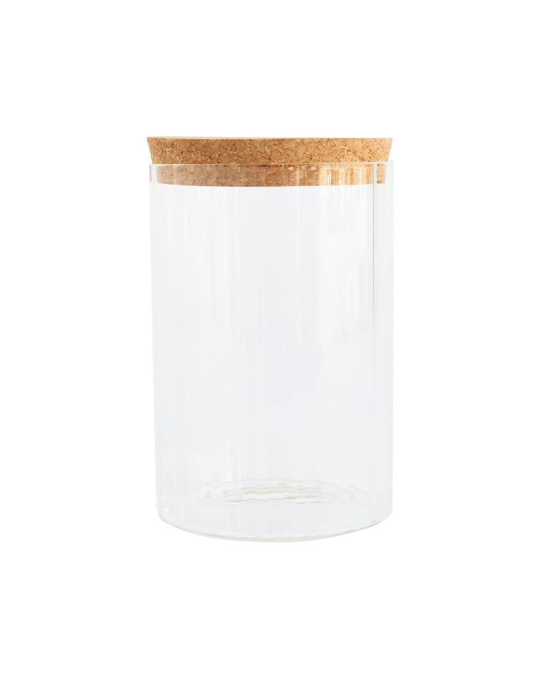 Ribbed Canister