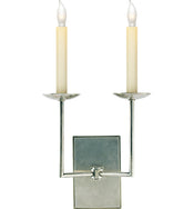 Right Angle Double Sconce
