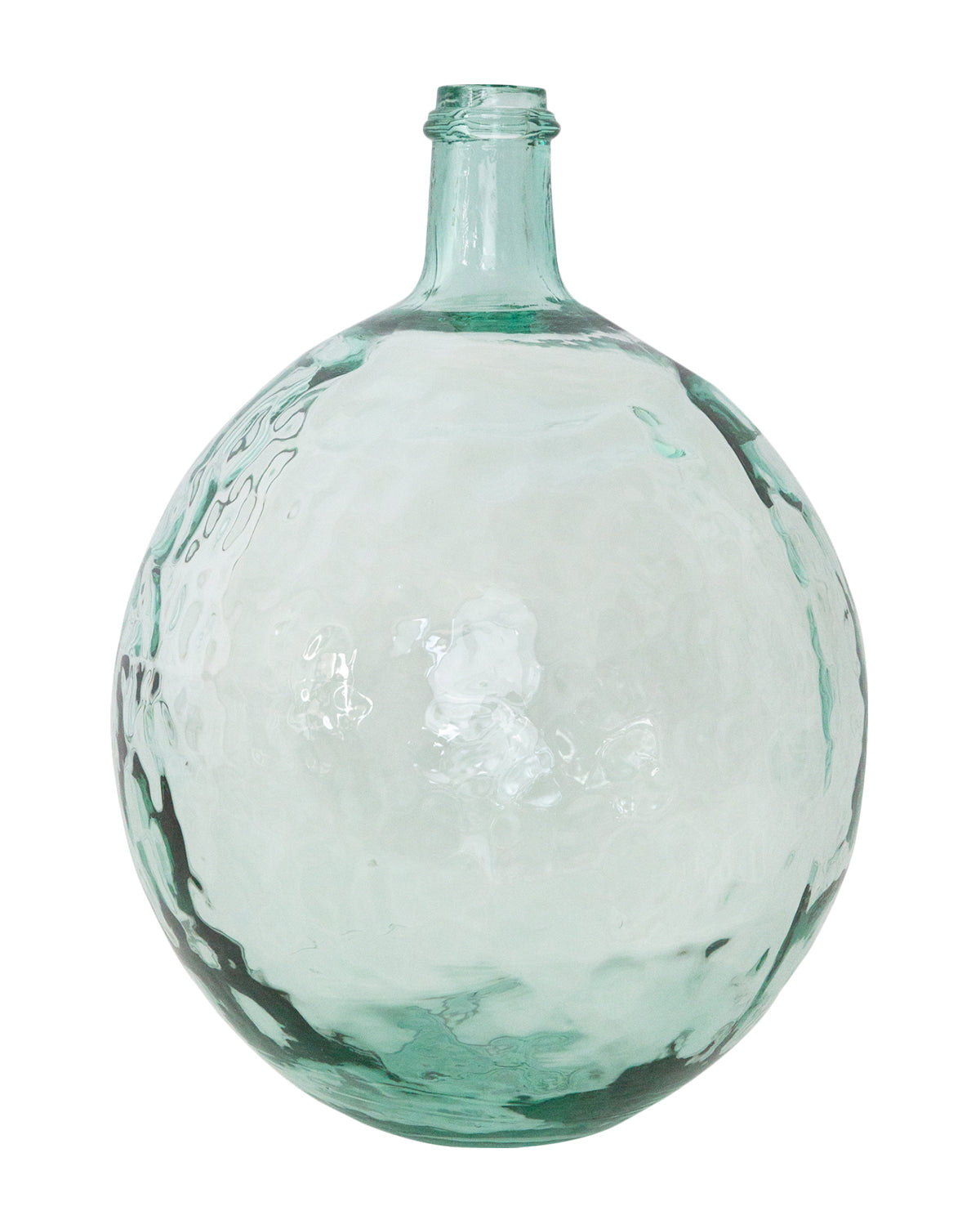 Rippled Glass Jar