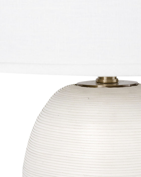 Rivoli Leather Table Lamp