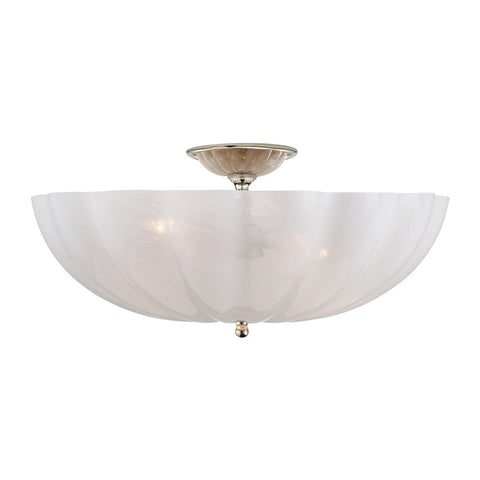 Rosehill semi flush mount