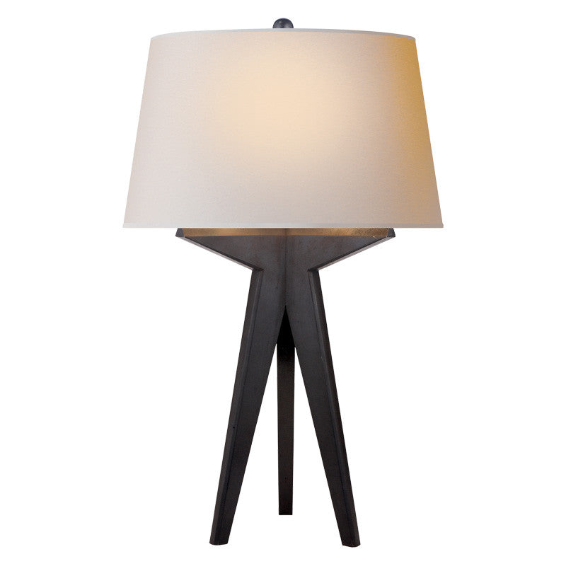 Russell modern tripod table lamp mcgee co russell modern tripod table lamp aloadofball Image collections