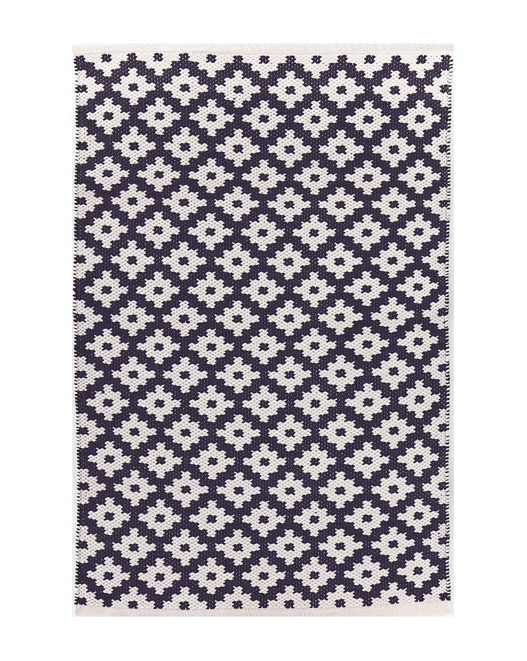 Samode Navy Indoor / Outdoor Rug Swatch