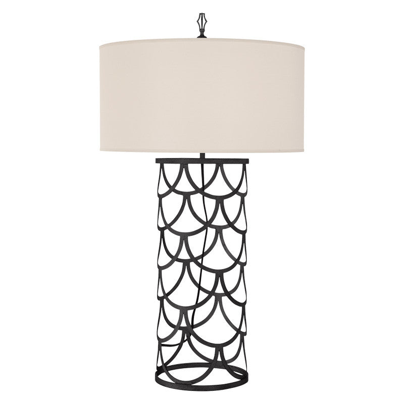 Serena Barrel Table Lamp