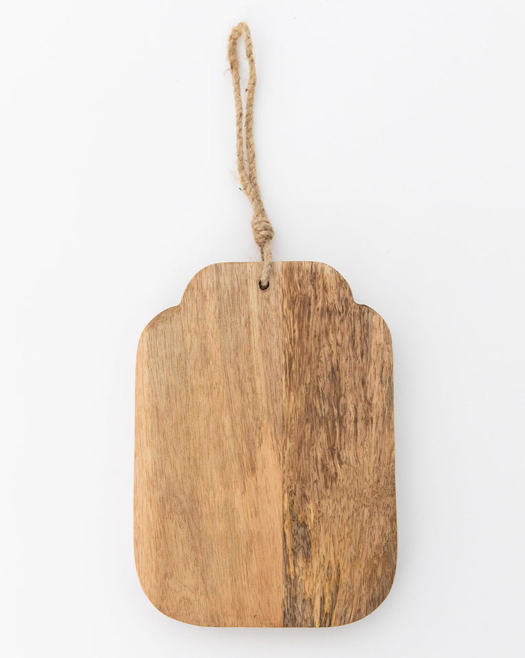 Small Wooden Cutting Board