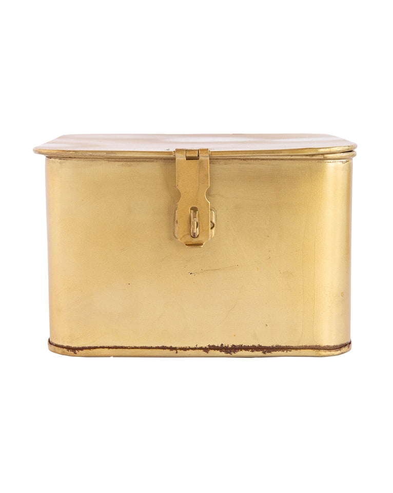 Square Brass Boxes