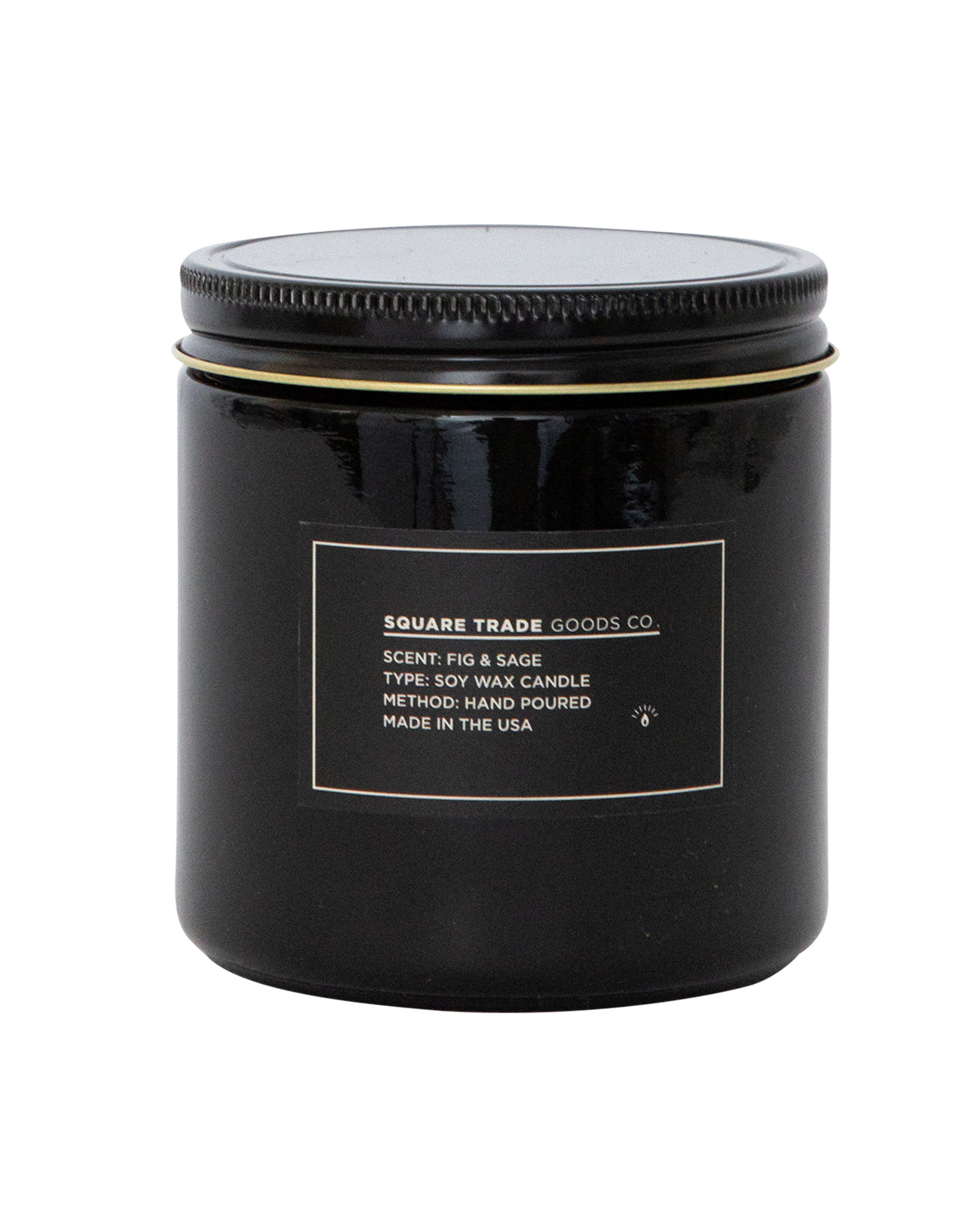 Square Trade Goods Co. Candle