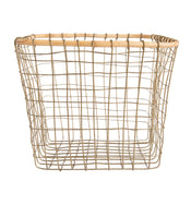 Square Wire Baskets (Set of 2)