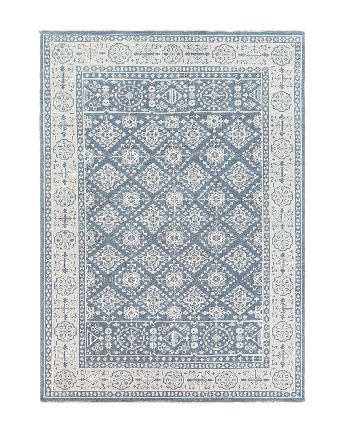 St. Cloud Denim Hand-Knotted Rug – McGee & Co.
