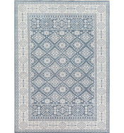 St. Cloud Denim Hand-Knotted Rug