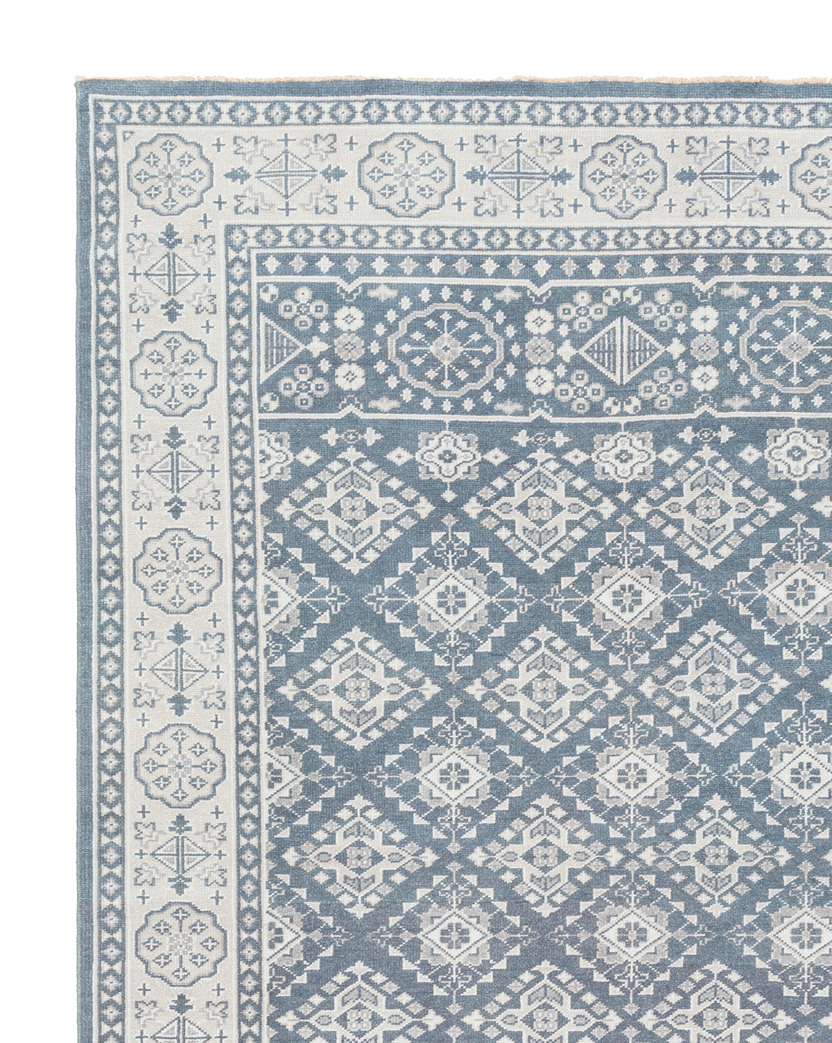 St. Cloud Denim Hand-Knotted Rug Swatch – McGee & Co.