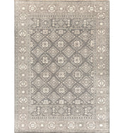 St. Cloud Khaki Hand-Knotted Rug