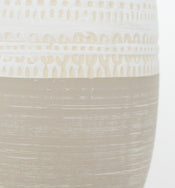 Stamped Tribal Vase