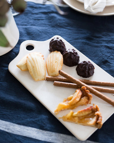 Stoneware Cheese Board