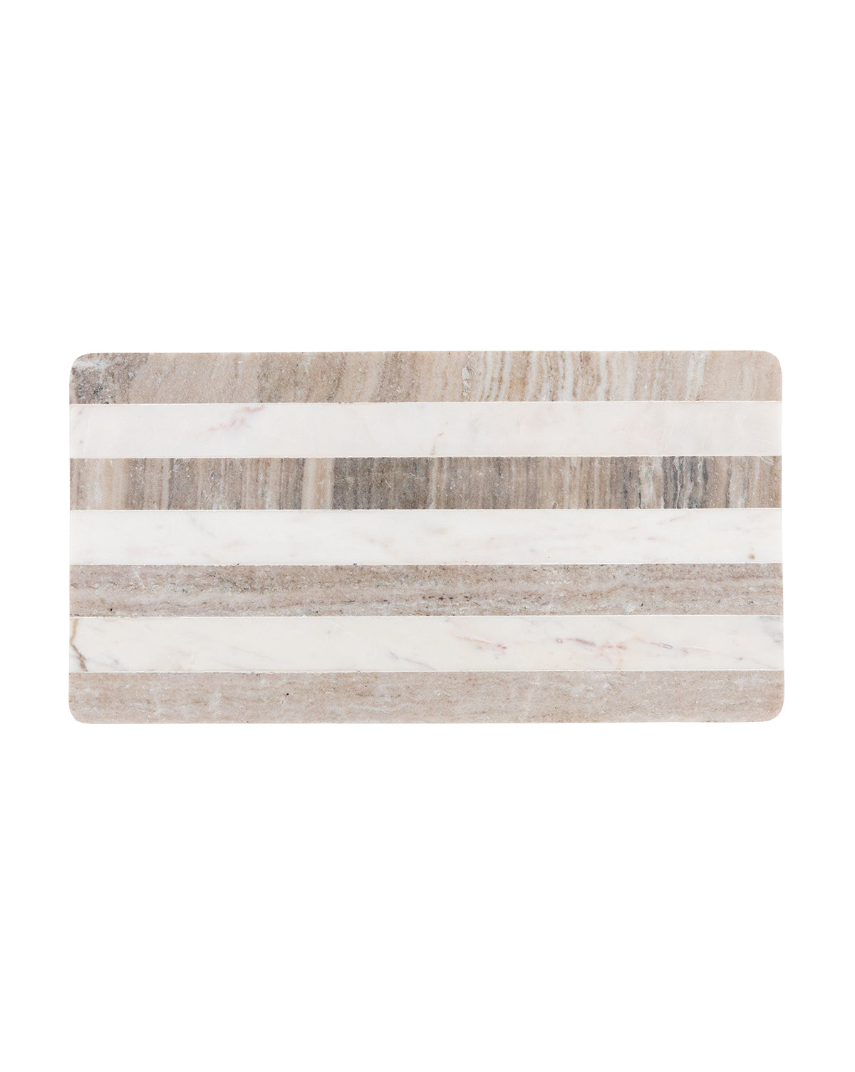 Striped Marble Tray