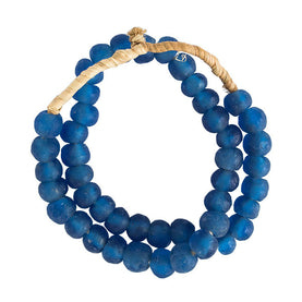 Venice Blue Sea Glass Beads