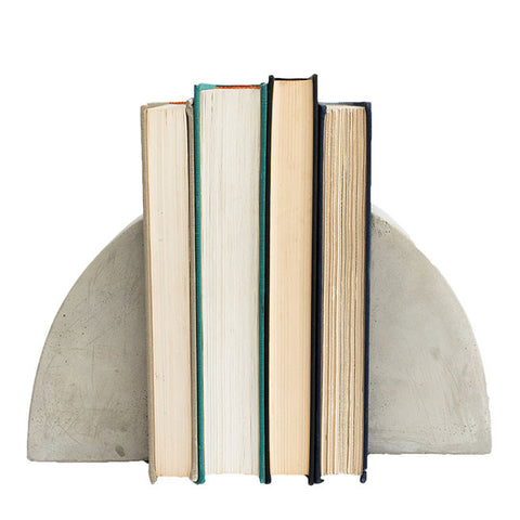 Geometric Concrete Bookends