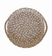 Taupe Speckled Tray