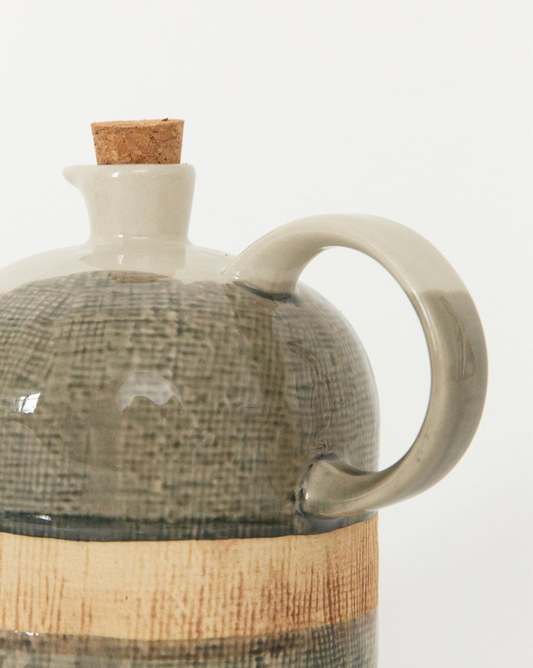 Textured Ceramic Jug
