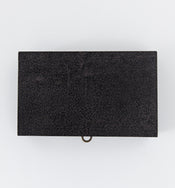 Textured Leather Box