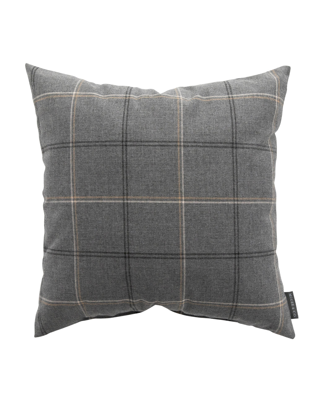 Theo Plaid Indoor Outdoor Pillow Mcgee Co