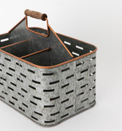 Tin & Copper Caddy