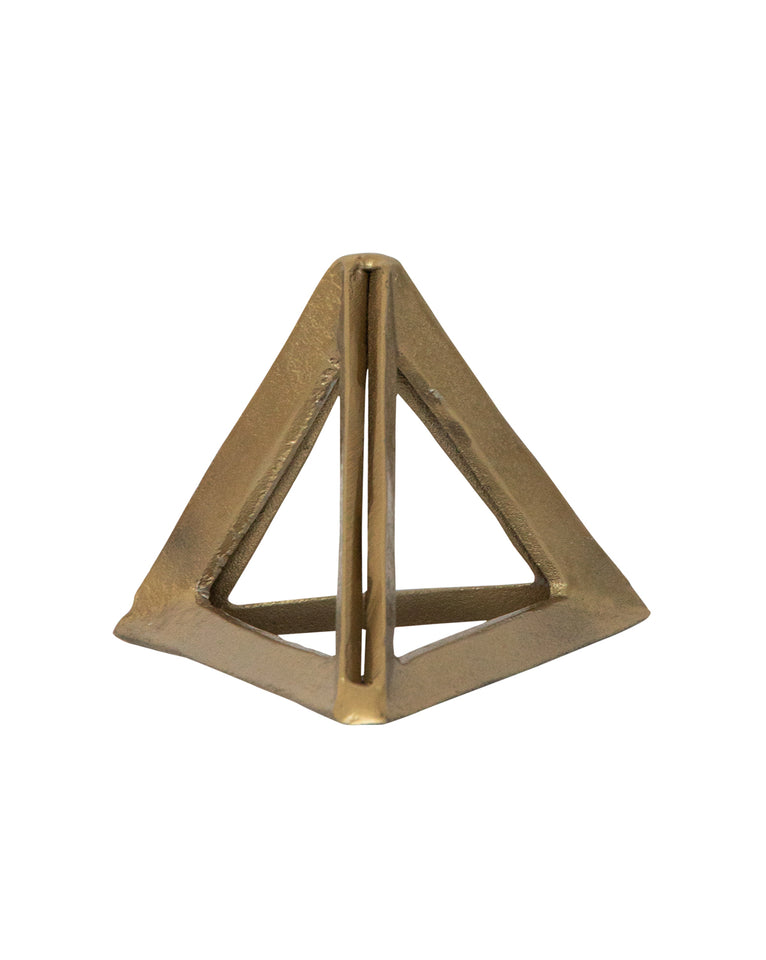 Triple Brass Triangle