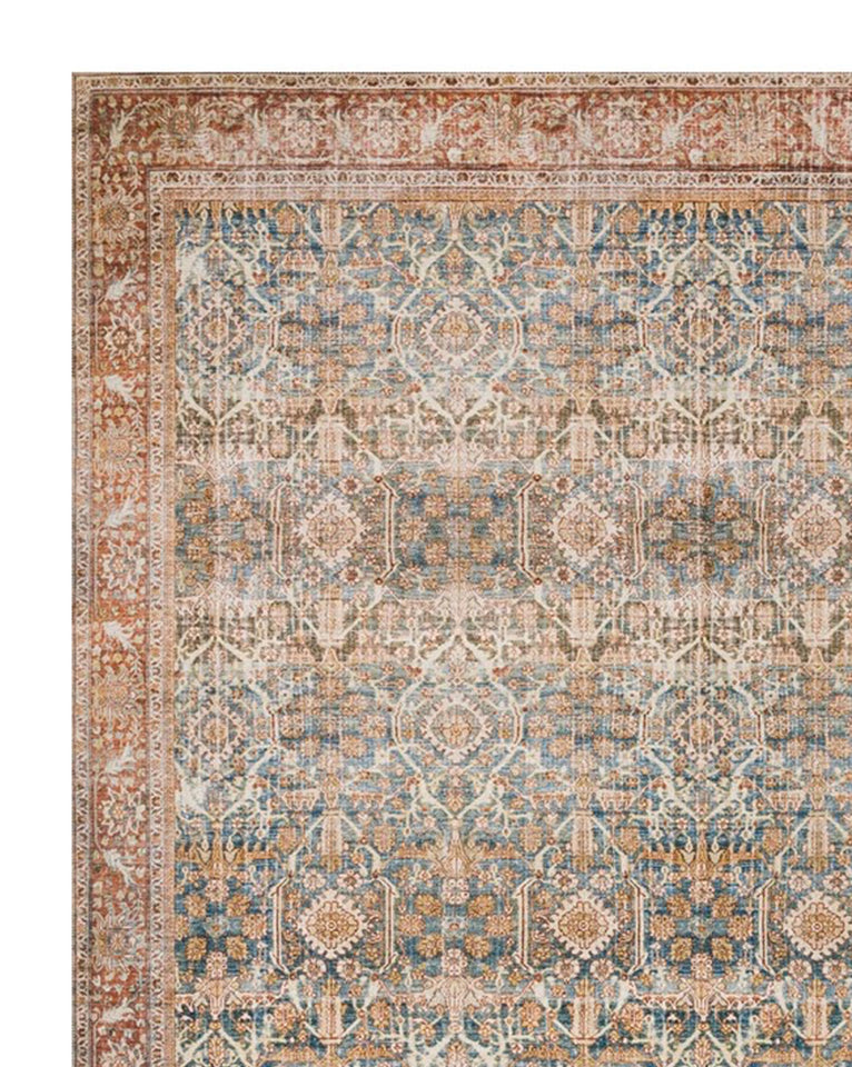 Tunis Patterned Rug Swatch