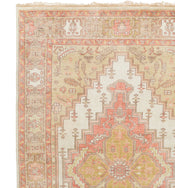 Venice Ivory & Tan Hand-Knotted Rug Swatch