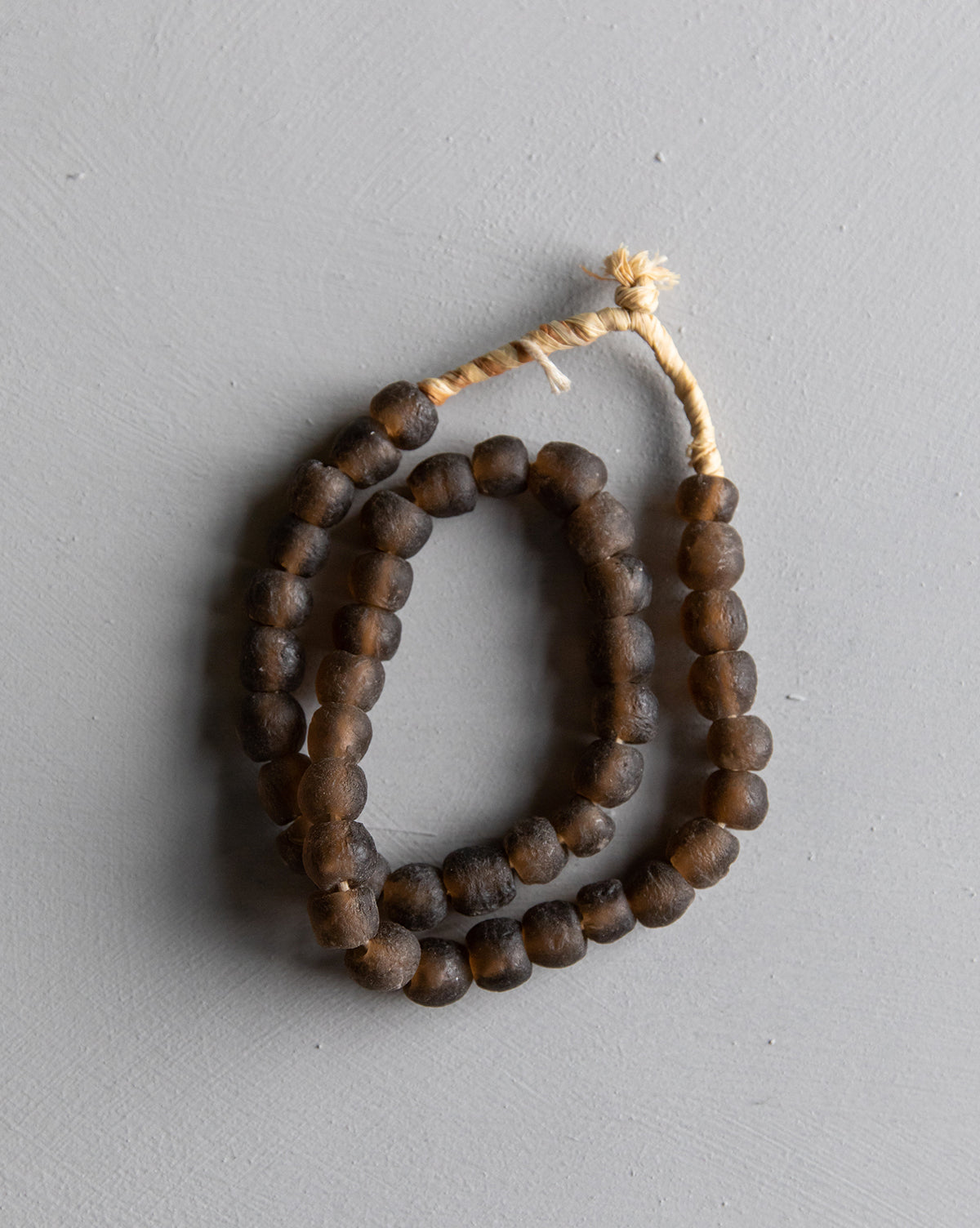 Found Sable Brown Beads