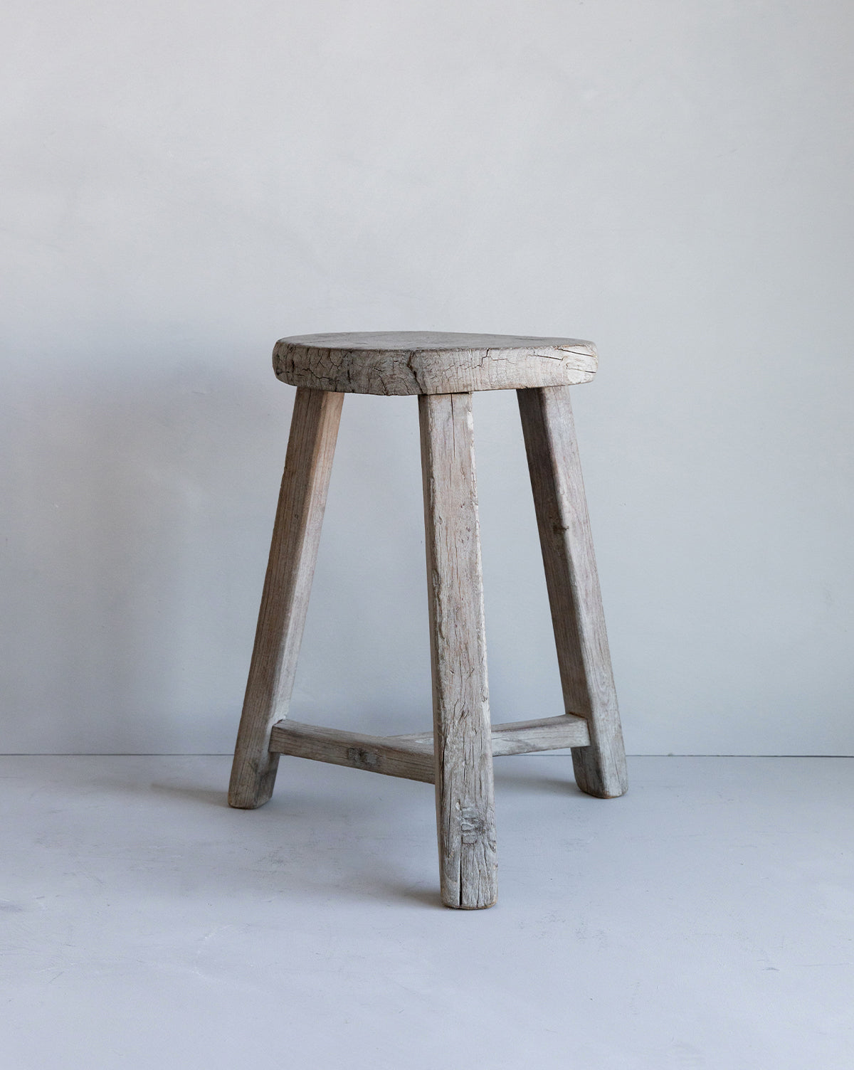 Vintage Tri-Legged Stool