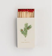 Vintage Botanical Matchbox