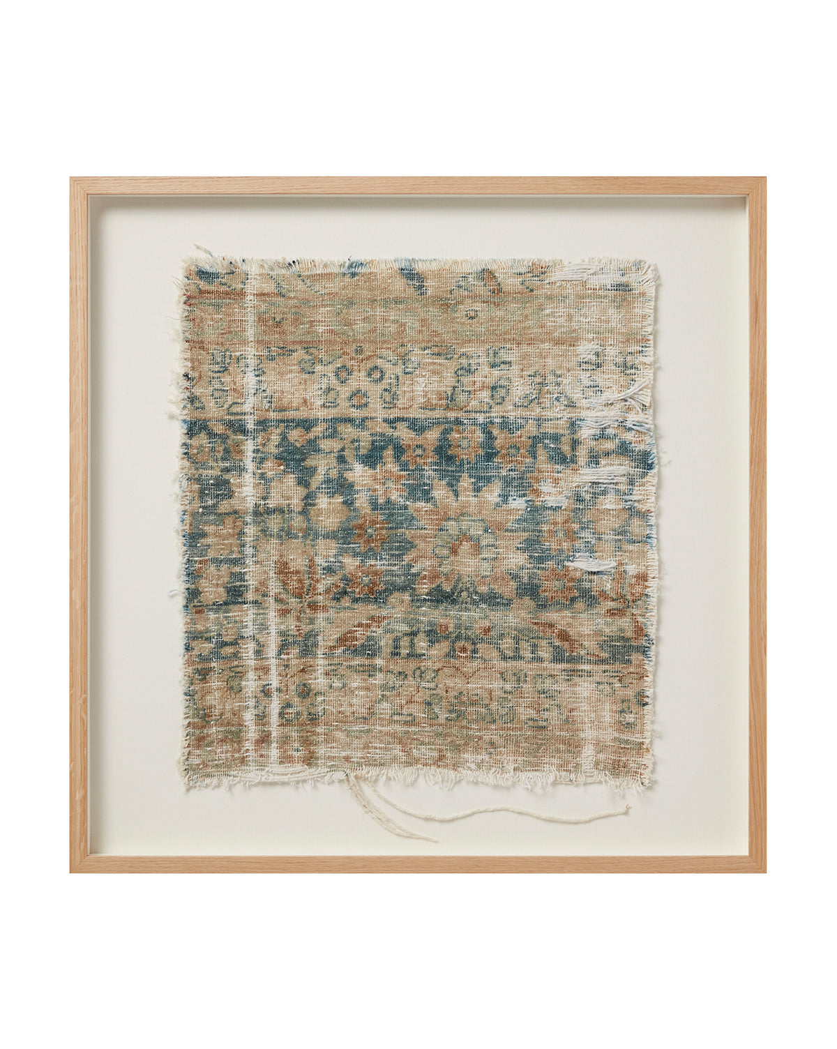 Vintage Framed Rug No. 10