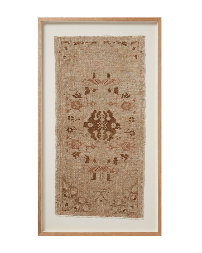 Vintage Framed Rug No. 5