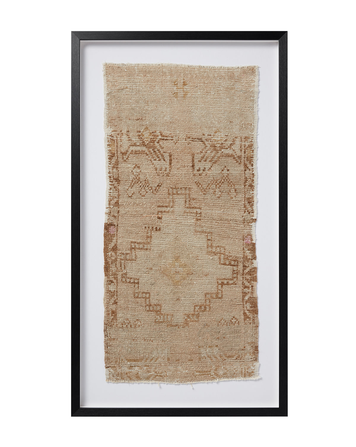 Vintage Framed Rug No. 6