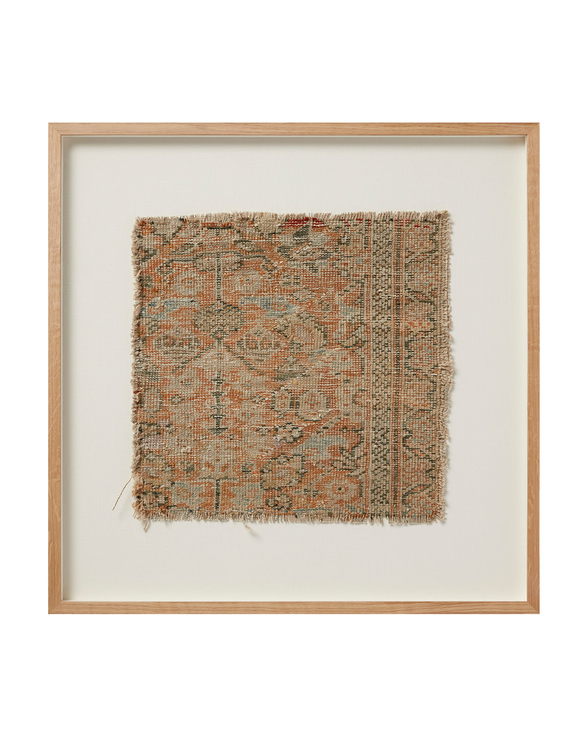 Vintage Framed Rug No. 8