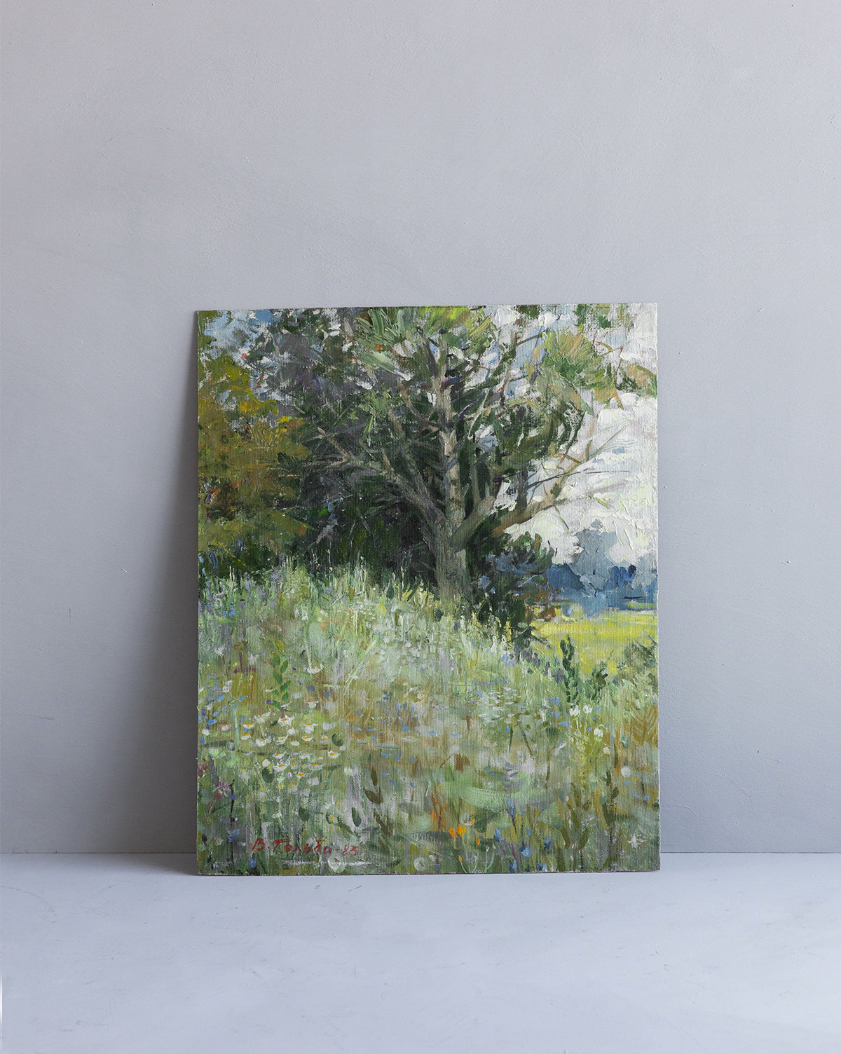 Vintage Meadows Painting