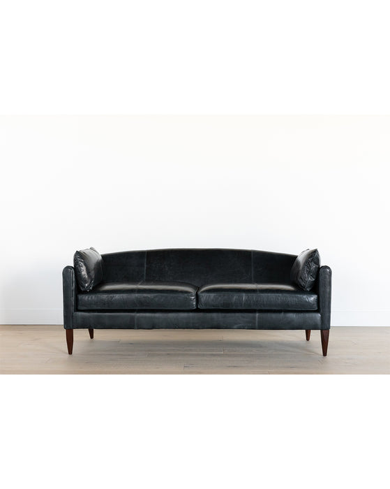 Warner Leather Sofa