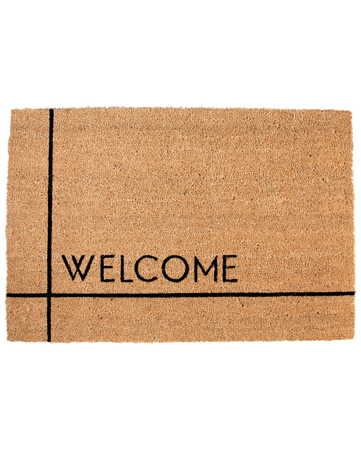 Modern Welcome Doormat